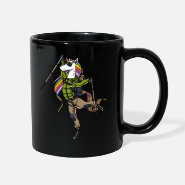Outdoor &amp Unicorn Hiking amping Mountain Climber - Full Color Mug