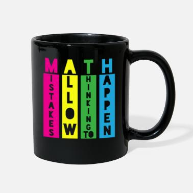 Math Teacher Math Teacher Math - Full Color Mug