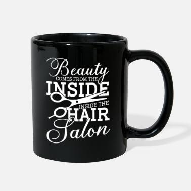 Salon beauty hair salon hairdresser salon hairdresser - Full Color Mug