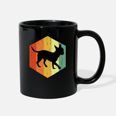 Civava Distressed Chihuahua Chihuahua Hexagon - Full Color Mug