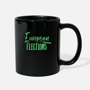 Elect EU Election EU Election EU Election EU Election - Full Color Mug