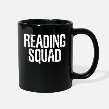 Read Reading Reading Reading - Full Color Mug