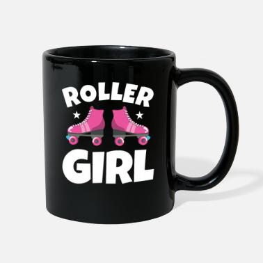 Roller Skates Club Roller Figure Skating Roller Girl - Full Color Mug