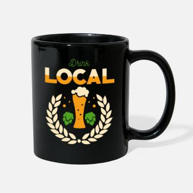 Stout Drink Local Beer - Full Color Mug