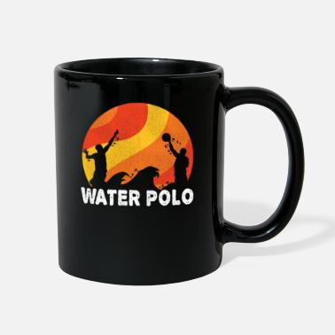 Offence Waterpolo Retro Water Polo Swimmers Sport Gift - Full Color Mug