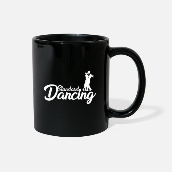 Ballroom Dance Mugs & Drinkware - Ballroom Dancing Dancer Dancing Gift - Full Color Mug black