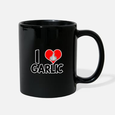 I Love Garlic - I love garlic - Full Color Mug