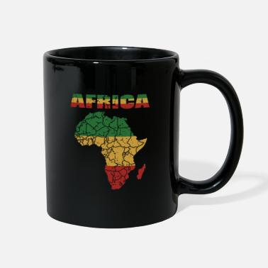 Roots Culture African Roots Culture Afro Card Gift - Full Color Mug