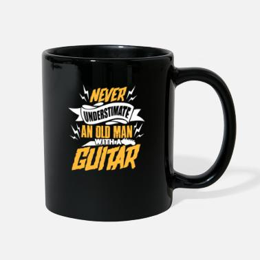Rock N Roll Guitarist Grandpa - Full Color Mug