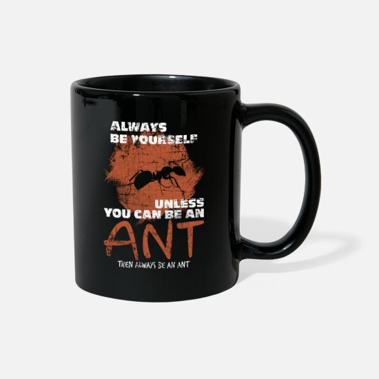 Ant Mugs & Drinkware - Ant - Full Color Mug black