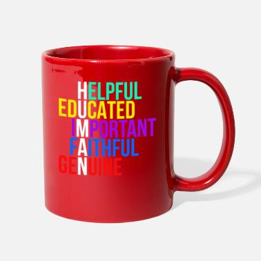 Cute Idea Human Humanity LGBT Rights Pride Being Cute Idea - Full Color Mug