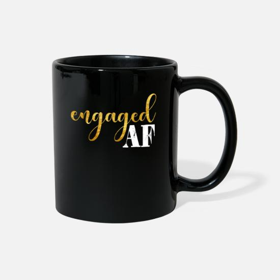 Engagement Mugs & Drinkware - ENGAGED ENGAGEMENT ANNOUNCEMENT product ENGAGED - Full Color Mug black
