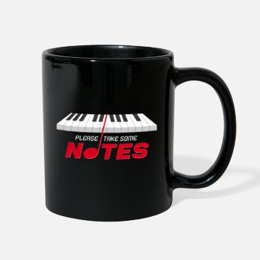 Musical Notes Music notes - Full Color Mug