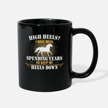 Gelding No High Heels Rider - Full Color Mug