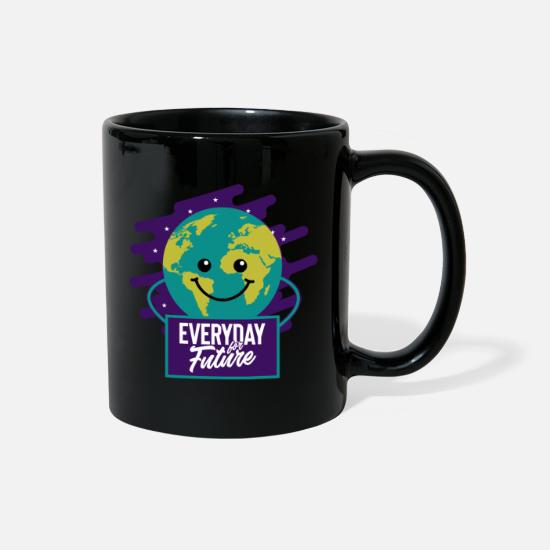 Protection Of The Environment Mugs & Drinkware - Environmental activists climate protection gift - Full Color Mug black