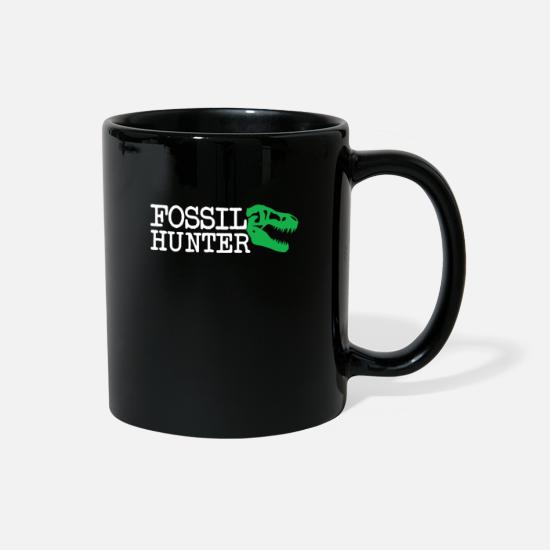 Birthday Mugs & Drinkware - Fossils Collector & Gift Idea - Full Color Mug black