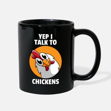 Chicken Chicken Whisperer Lovers Funny Farmer Farming Gift - Full Color Mug