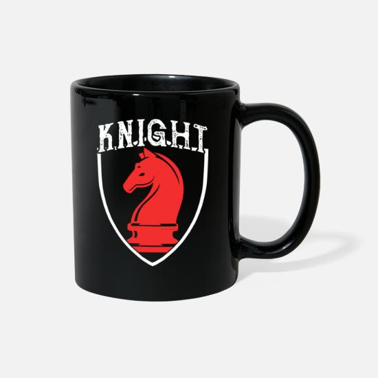 Gift Idea Mugs & Drinkware - Knight - Full Color Mug black