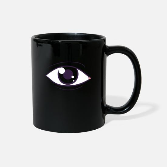 Symbol  Mugs & Drinkware - Eye - Full Color Mug black