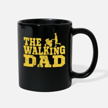 Adventure The running daddy with pram - Full Color Mug
