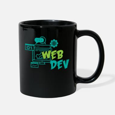 Homepage Web Developer Web Development Internet Gift - Full Color Mug