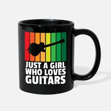 Eguitar music guitar eguitar guitarist musician play gift - Full Color Mug