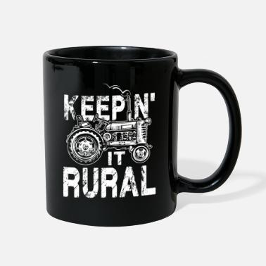 Rural Keepin it rural - Full Color Mug