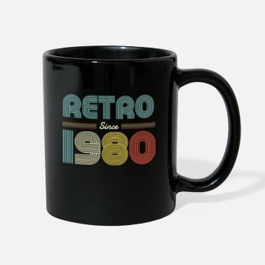 Awesome Since Retros since 1980 anniversary design shirt - Full Color Mug