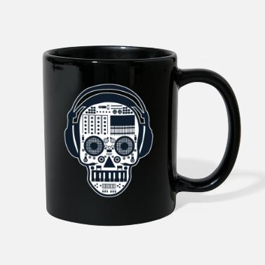 Remix Skull DJ Desk Remix Buttons Volume Death Gift - Full Color Mug