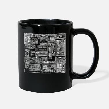 Synthesizers and Drum machines Lover - Full Color Mug