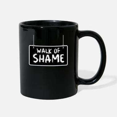 Cat Fan Halloween Sexy Walk Of Shame Party Funny gifts - Full Color Mug