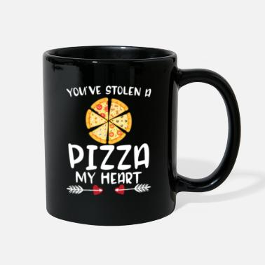 Mothers Day You've Stolen A Pizza My Heart Funny Valentines - Full Color Mug