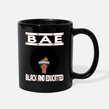 Fraternity Black and Educated African Women Black Colleges - Full Color Mug