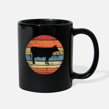 Hoof Retro cow - Full Color Mug