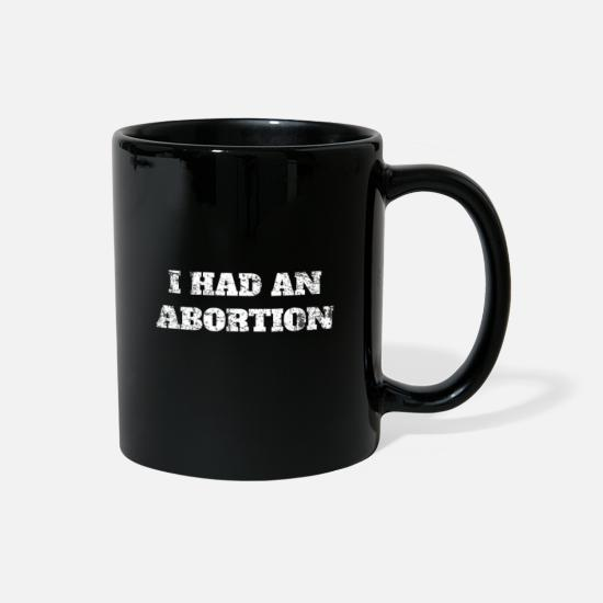 Pro Mugs & Drinkware - Abortion Election - Full Color Mug black