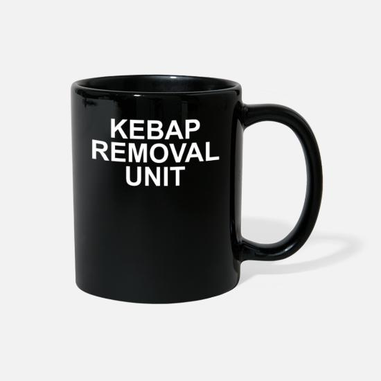 Turkish Mugs & Drinkware - kebap removal unit - Full Color Mug black