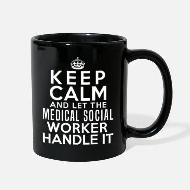 Funny Quotes Medical Social Worker Profession Job Title Gift - Full Color Mug