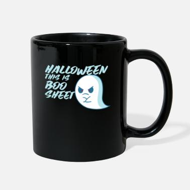 Vegan Halloween This Is Boo Sheet - Full Color Mug