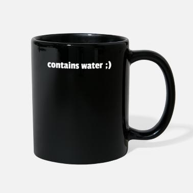 Container Contains Water - Full Color Mug