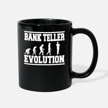Bank Crisis BANK TELLER EVOLUTION Tee Shirt - Full Color Mug