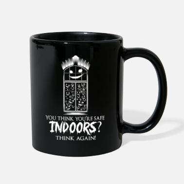 Conspiracy Safe Indoors From Stalker Eyes Scary Folklore Tale - Full Color Mug