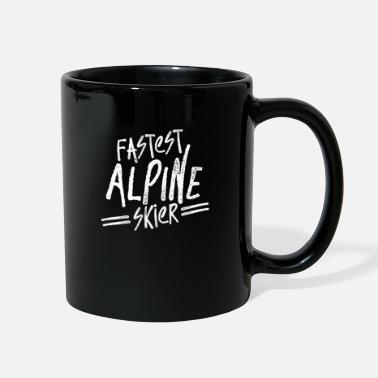 Alpine Alpine Skier - Full Color Mug