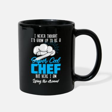 Employee I Never Thought I'd Grow Up To Be Super Cool Chef - Full Color Mug