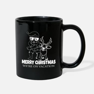 Christmas Merry Christmas - we are on vacation - Full Color Mug