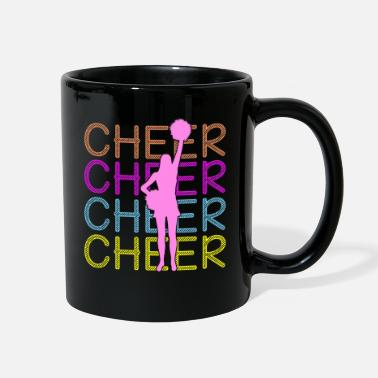 Cheers Cheerleading - Cheer Cheer Cheer - Full Color Mug