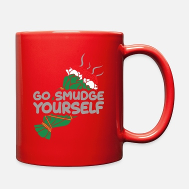 Smudge Smudge Yourself Smudging Ritual Bouquet Ceremony - Full Color Mug