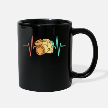 Womens Day Photography Photograph Camera Heartbeat - Full Color Mug