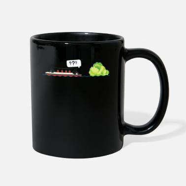 Titan Funny titanic and iceberg lettuce pun hilarious - Full Color Mug