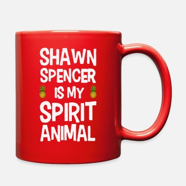 Psyche Funny Psych Gus Shawn Spencer Is My Spirit Animal - Full Color Mug