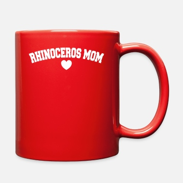 Black Rhinoceros Rhinoceros Mom CLASSIC EDITION - Full Color Mug